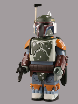 WF限定 STAR WARS 400% KUBRICK BOBA FETT RETURN OF THE JEDI Ver.