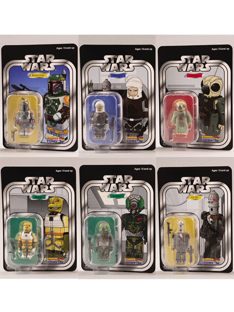 EXHIBITION 2007限定 BOUNTY HUNTER KUBRICK SET OF 6pcs. COLLECTORS EDITION