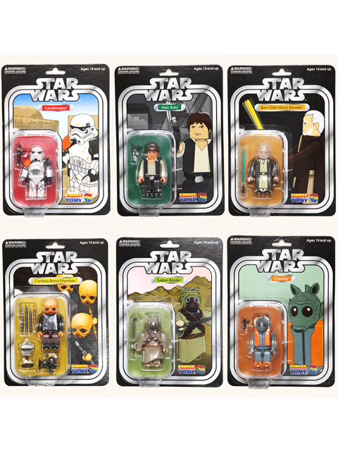 EXHIBITION 2008限定 STAR WARS KUBRICK SERIES 2 SET OF 6pcs.COLLECTORS EDITION