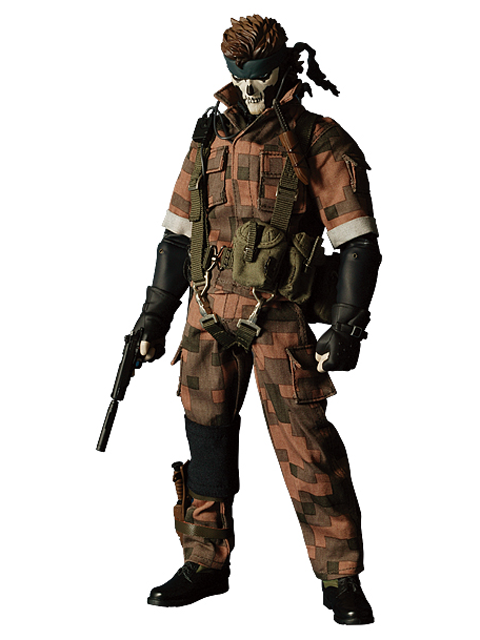 WF2005冬限定 RAH METAL GEAR SOLID 3 SNAKE SQUARES CAMOUFLAGE Ver.