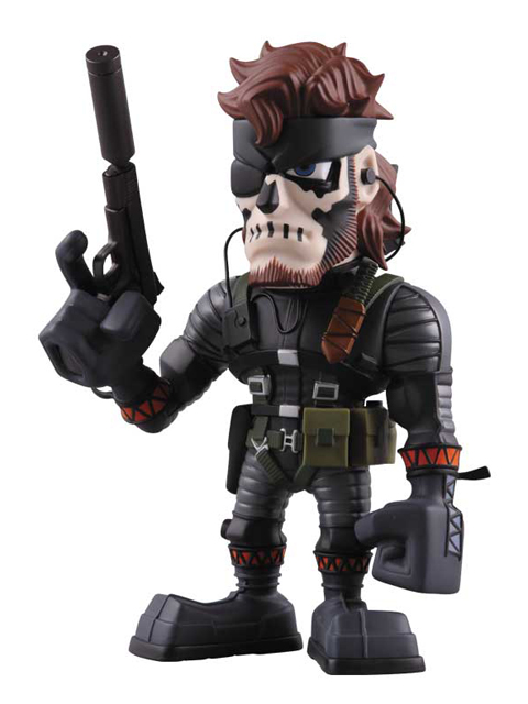 VCD NAKED SNAKE SNEAKING SUIT ZOMBIE FACE PAINT Ver.