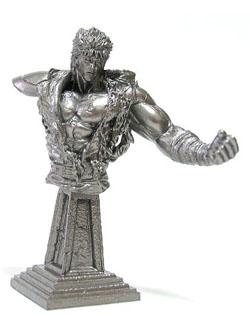 セブンイレブン限定 海洋堂 北斗の拳 フィギュア 第1弾 ケンシロウ胸像(銀)