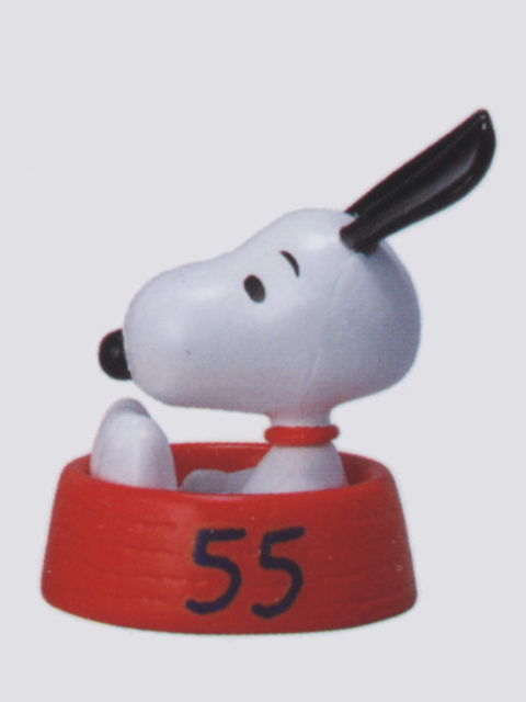 コロコロスヌーピー 55周年フィギュアコレクション 8.GET GOING SNOOPY(RED)