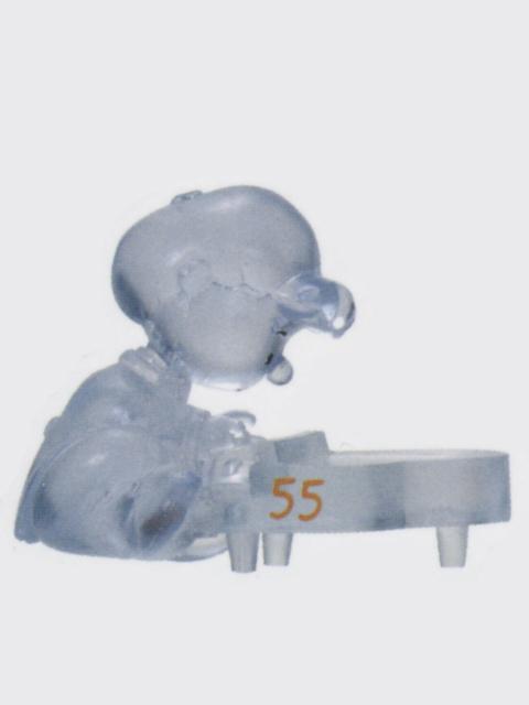 コロコロスヌーピー 55周年フィギュアコレクション 36.SCHROEDER(CLEAR)