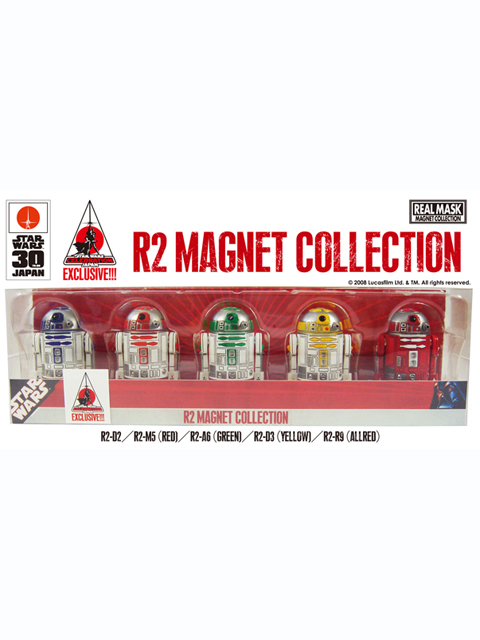 STAR WARS CELEBRATION JAPAN限定  R2 MAGNET COLLECTION 5種セット