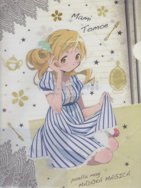 ローソン限定 魔法少女まどか☆マギカ 巴マミVer. クリアファイル
