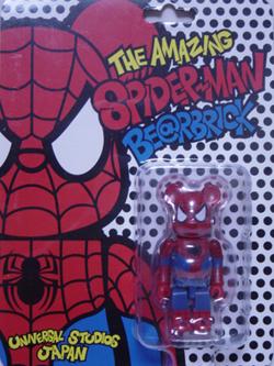 BE@RBRICK USJ限定 スパイダーマン