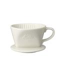 カリタ  ロート  陶器(白)#101 1~2人用