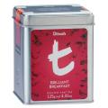 【送料無料】ディルマ ≪t-シリーズ≫ブリリアント・ブレックファースト リーフティー M缶125g