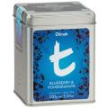 【送料無料】ディルマ ≪t-シリーズ≫ブルーベリー&ザクロ リーフティー M缶100g