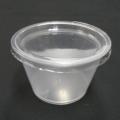 【お徳用】ワルツ 耐熱プリンカップ(フタ付) 100ヶ入