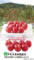 平良木さんの無袋ふじりんご