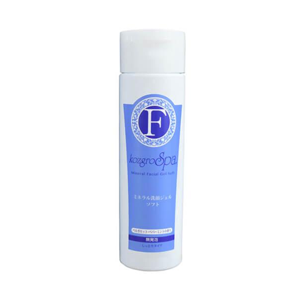 bi2422 コズグロスパ ミネラル洗顔ジェルソフト(しっとり)【ミネラルで優しく洗顔。トラブルのない素肌へ】