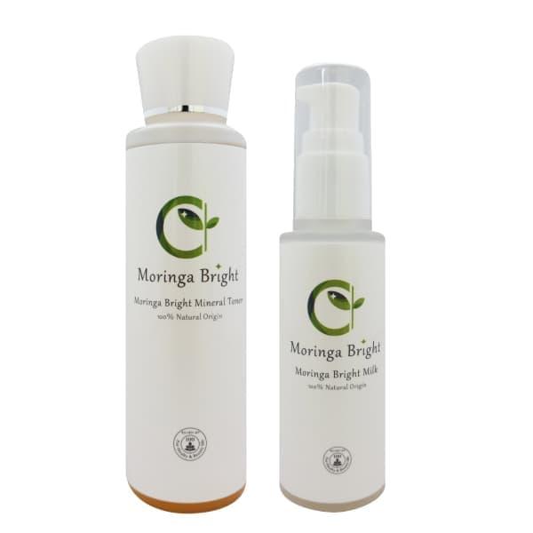 モリンガブライトミネラル化粧水+モリンガブライトミルクセット