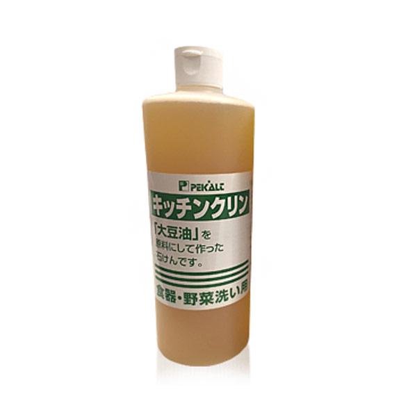 ka1068 ペカルトキッチンクリン500ml【油汚れも良く落ちる人気の台所液体石けん】