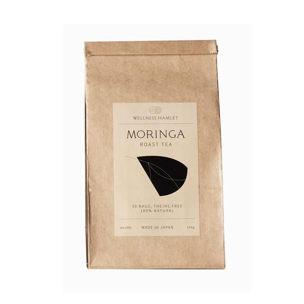 ke3048 モリンガ茶(3.5g×30パック)【焙煎して飲みやすく美味しい/ご家族皆さまの健康・美容に/1パック単価70円で1.5リットル作れます/ノンカロリー&ノンカフェイン】