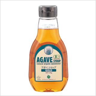 【有機JASブルーアガベが原料/低GI天然甘味料】有機アガベシロップGOLD330g [商品番号:ke3255]