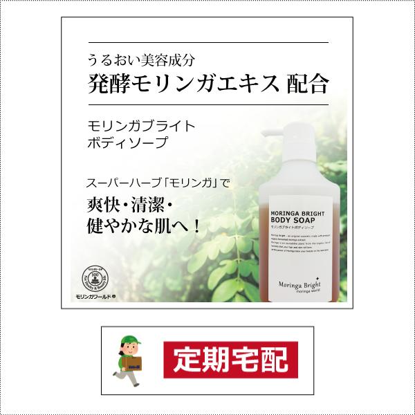 【定期宅配】モリンガブライトボディソープ450ml(ポンプタイプ) [商品番号:bi3055]