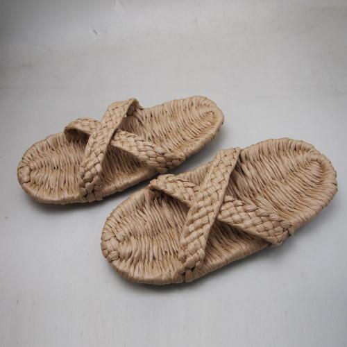 和紙の糸商品 イシカワ 和紙サンダル平織 約24.5cm 耐水性 完成品S-2500 (180054)
