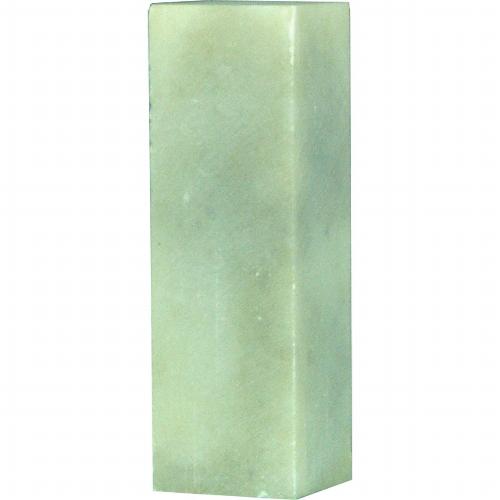 21604 篆刻用石印材 白渓石 2270 2.2cm角