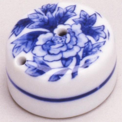 26125 陶器 水滴ボタン 丸小