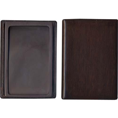 600425 中国硯 宋坑淌池硯 7吋 木製箱入 550305