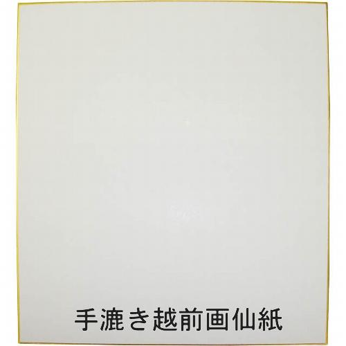 607513 大色紙 画仙ドーサ引 極上(手漉き越前画仙)0014