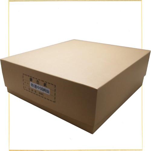 607590b 大色紙特価品 特選中国画仙紙張【まとめ買い50枚入り】