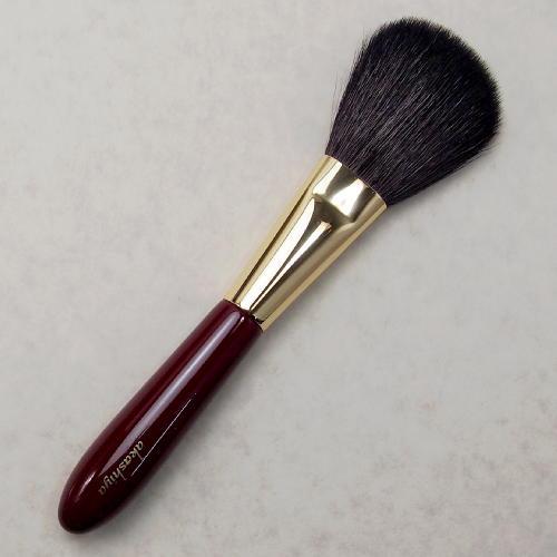 化粧筆 奈良筆あかしや ハイグレードタイプ臙脂 パウダーS H3-RG【メール便対応】 (610013)