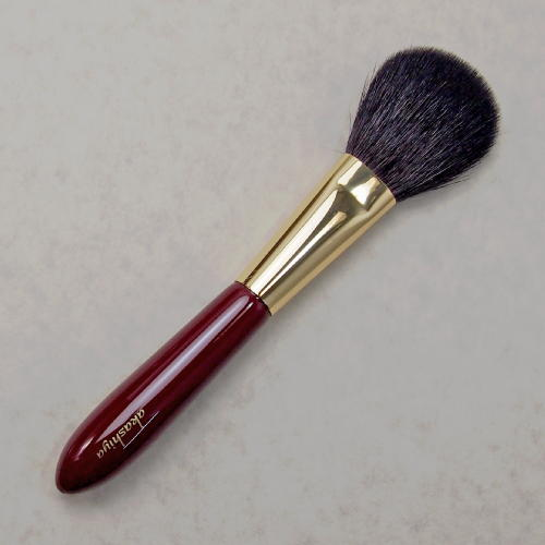 化粧筆 奈良筆あかしや ハイグレードタイプ臙脂 チークL H4-RG【メール便対応】 (610014)