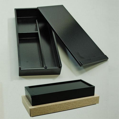 610256 懐中黒塗硯箱 AR-5000