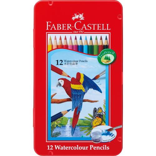 水彩用品 ファーバーカステル 水彩色鉛筆12色セットTFC-WCP/12C【メール便対応】(610392)