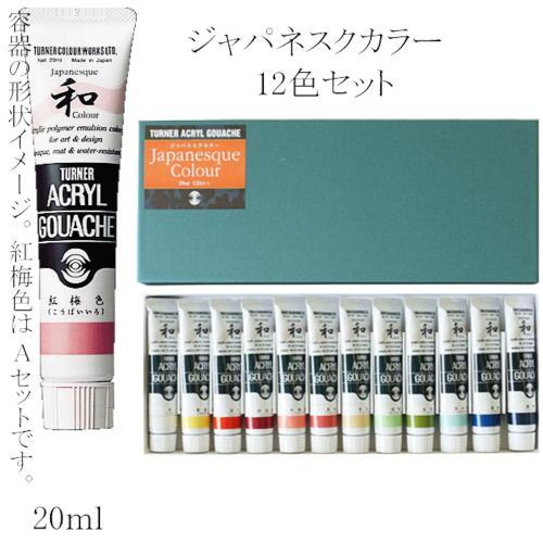 623349 ターナージャパネスクカラー 20ml 12色セット【メール便対応】