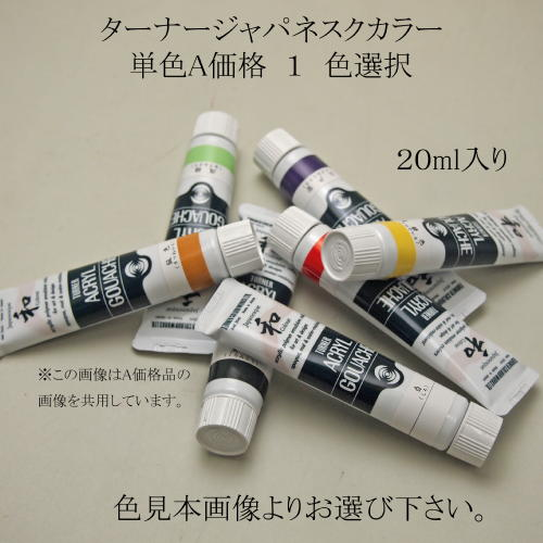 623351s ターナージャパネスクカラー 20ml 単色A価格1 色選択【メール便対応】