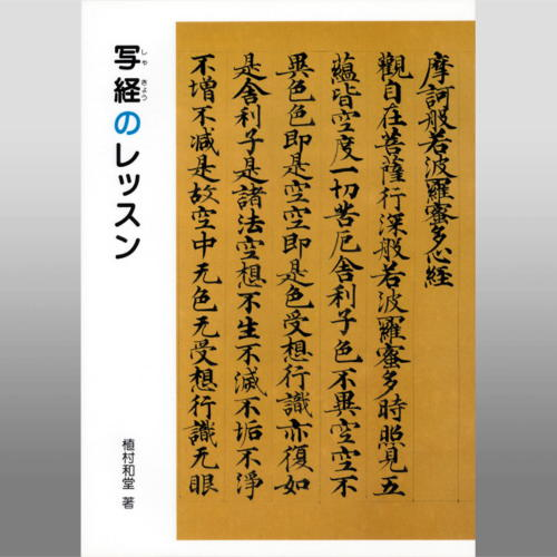 801648 写経のレッスン B5判56頁 二玄社 【メール便対応】