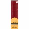 30151  墨運堂 建築用鉛筆 赤 6本入
