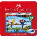 水彩用品 ファーバーカステル 水彩色鉛筆24色セットTFC-WCP/24C【メール便対応】(610393)