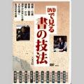 800207 DVD DVDで見る書の技法  天来書院