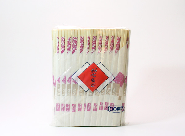 箸袋入り割り箸(花小舞)