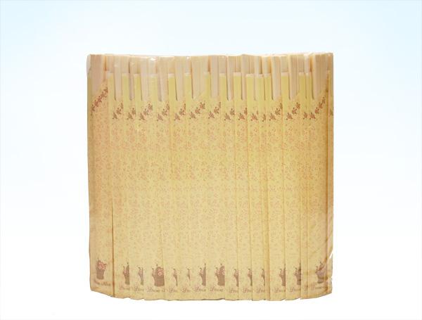 袋入割箸 ルボンヌ アスペン元禄200膳×15入(3000膳)