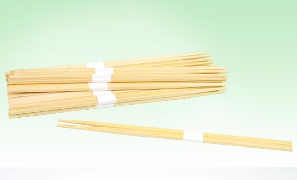 竹角割箸(24cm・白巻帯)1000膳
