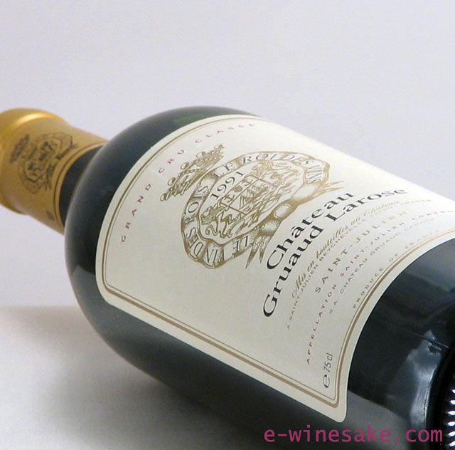 グリュオー・ラ・ローズ1991年/サンジュリアン/ボルドー赤ワイン/ワインの専門店瀧澤