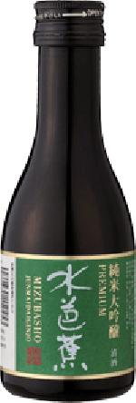 水芭蕉純米大吟醸プレミアム180ml ベボーボトル/永井酒造/群馬の地酒/酒の瀧澤