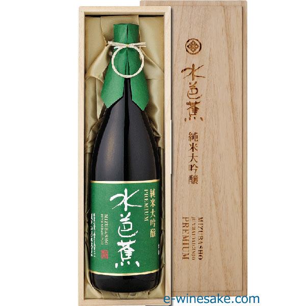 水芭蕉純米大吟醸プレミアムB1.8L/永井酒造/群馬の地酒/酒の瀧澤