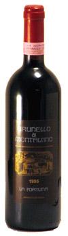 ブルネッロ・ディ・モンタルチーノ1995 ラ・フォルトゥナ トスカーナ/イタリア赤ワイン