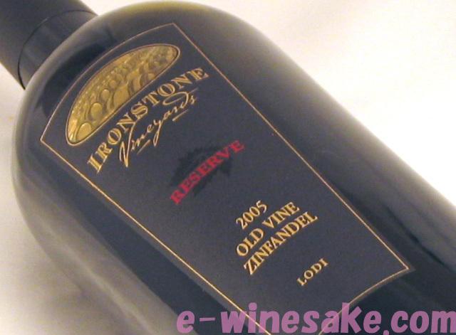 ジンファンデル ロダイ・リザーヴ カリフォルニア赤ワイン