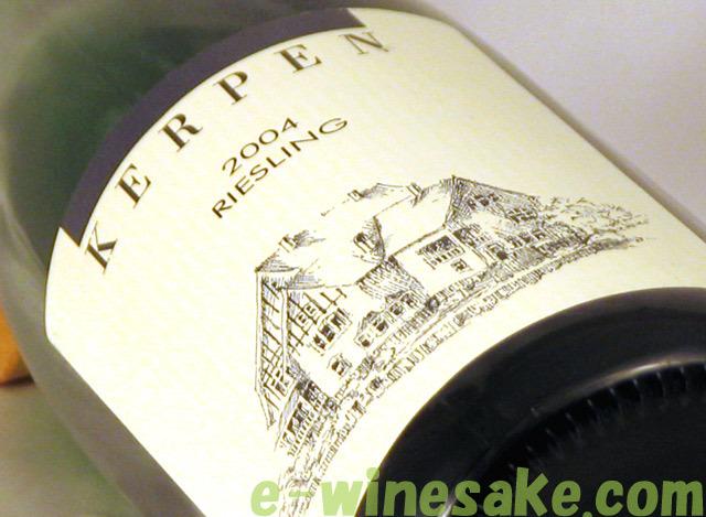 リースリングQba ケルペン ドイツ白ワイン