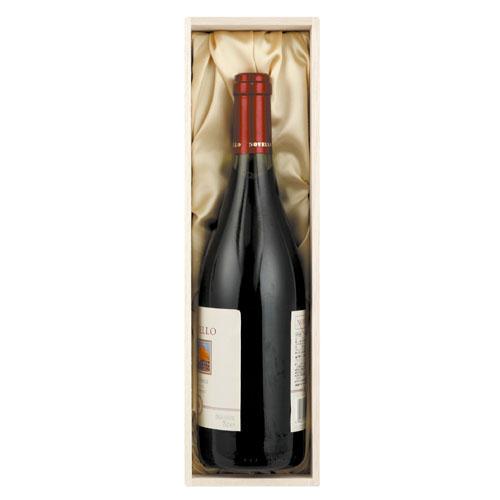 ワインギフト木箱布張り1本用