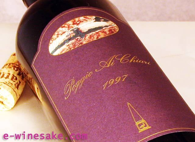 ポッジョ・アイ・キアリ/サン・ムスティオーラ/トスカーナ赤ワイン