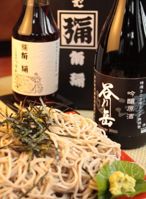谷川岳限定吟醸酒&そばギフトセット
